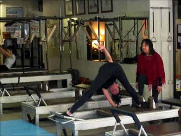 Pilates certificado Anna Rubau: Sari Mejía Santo en Anna Rubau in Dragos Gym te New York