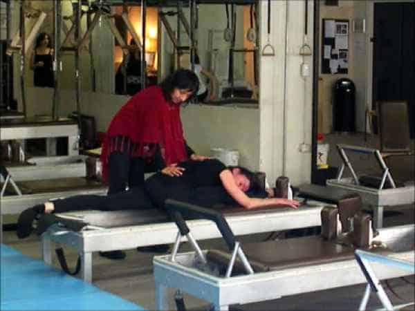 Sari Mejía Santo y Anna Rubau en Dragos Gym te New York
