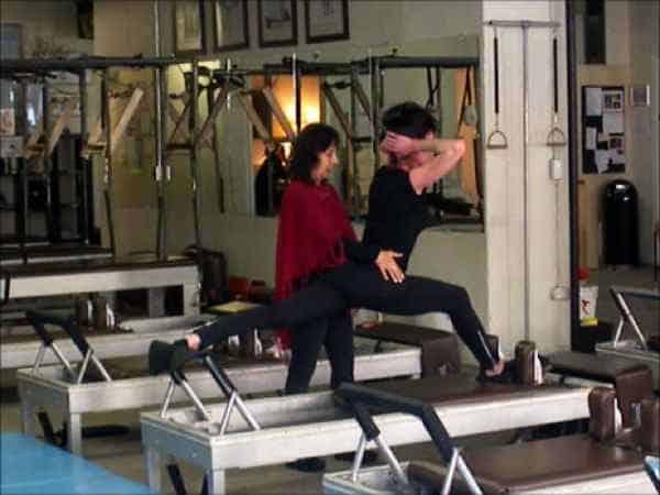 Sari Mejía Santo y Anna Rubau en Dragos Gym New York