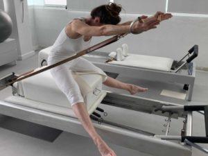 Respiración Pilates ejercicio Anna Rubau