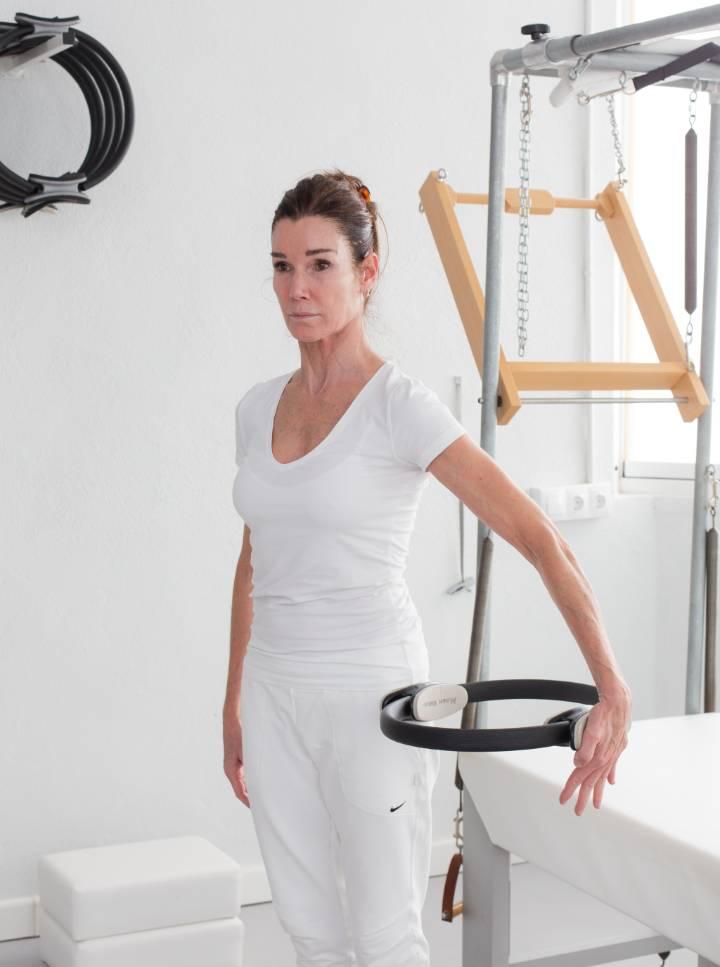 Pilates con maquinas - Anna Rubau con Círculo Mágico
