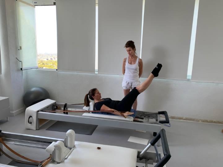 Pilates Reformer y Anna Rubau