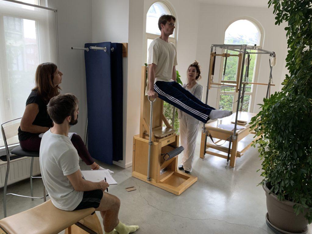Silla Alta - Pilates con aparatos