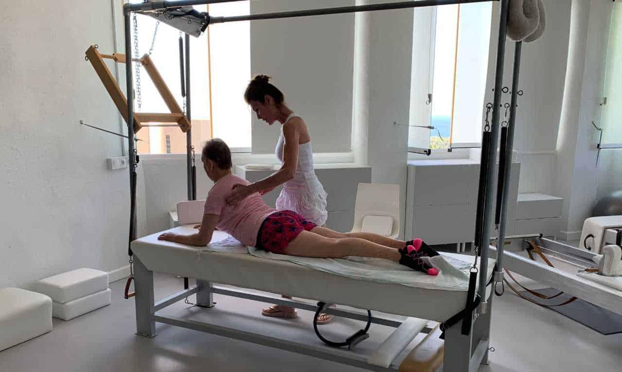 Sesión Pilates con Anna Rubau